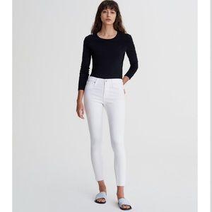 AG Farrah skinny ankle high rise jeans